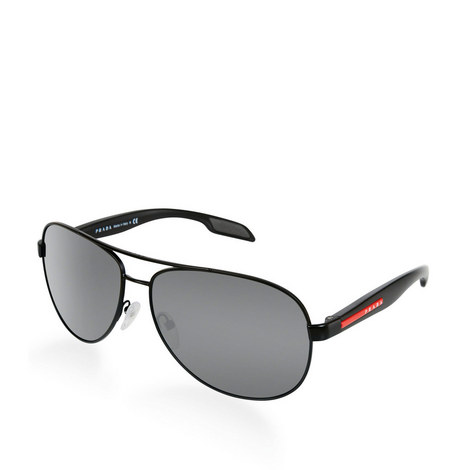 Demi Aviator Sunglasses PS 53PS, ${color}