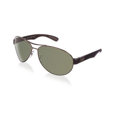 Active Lifestyle Aviator Sunglasses RB35090 Polarised, ${color}