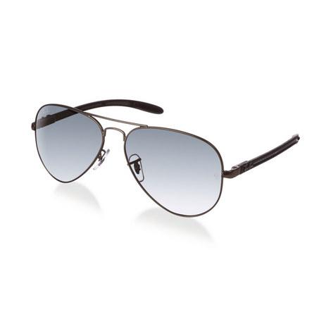 Carbon Fibre Aviator Sunglasses RB83070, ${color}