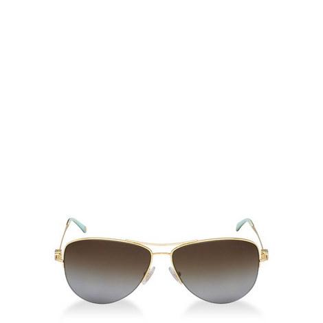 Heart Aviator Sunglasses TF30216 Polarised, ${color}