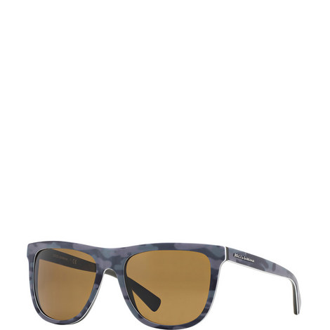 Square Military Sunglasses DG4229, ${color}