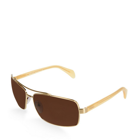 Brushed Square Sunglasses PR 55QS, ${color}