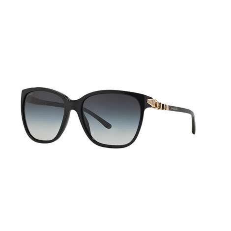 Serpenti Square Sunglasses BV8136B, ${color}