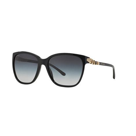 Serpenti Square Sunglasses BV8136B, ${color}