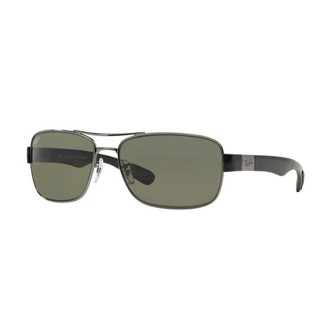 Square Sunglasses RB3522 Polarised, ${color}