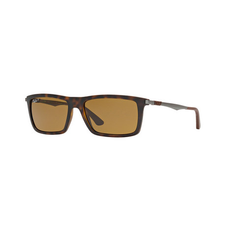 Rectangle Sunglasses RB4214 Polarised, ${color}