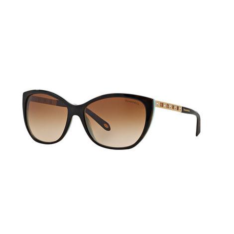Cat Eye Sunglasses TF4094B, ${color}
