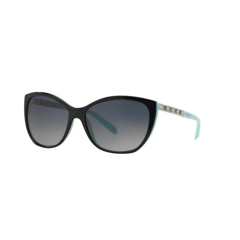 Numeral Cat Eye Sunglasses TF4094B, ${color}