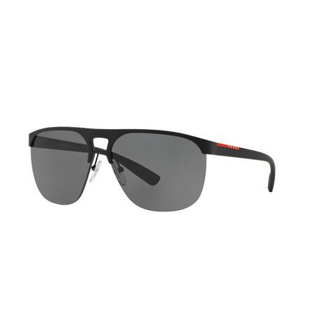 Rectangle Sunglasses PS53QS, ${color}