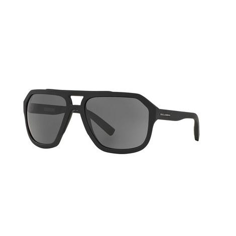 Irregular Aviator Sunglasses DG2146, ${color}