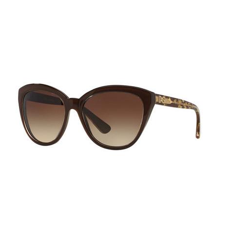 Cat Eye Sunglasses DG4290, ${color}