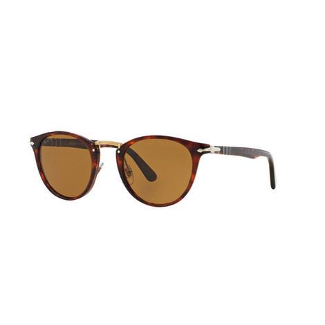 Round Sunglasses Polarised PO3108S, ${color}