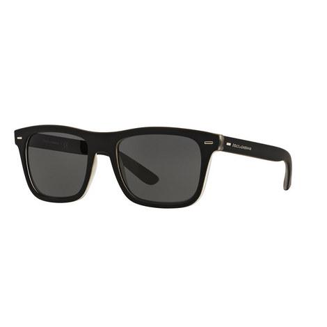 Rectangle Sunglasses DG6095, ${color}