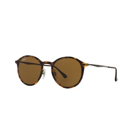 Round Light Sunglasses RB4224, ${color}