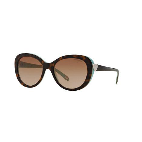 Havana Oval Sunglasses TF4113, ${color}