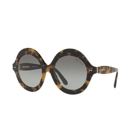 Havana Round Sunglasses RL8140, ${color}