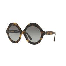 Havana Round Sunglasses RL8140