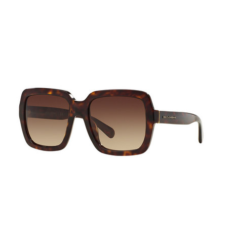 Havana Square Sunglasses DG4273, ${color}