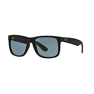 Justin Rectangle Sunglasses RB4165