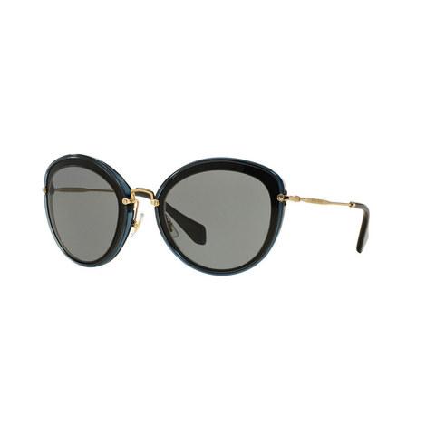 Cat Eye Sunglasses 0MU 50RS, ${color}