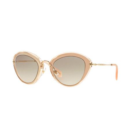 Cat Eye Sunglasses 0MU 51RS, ${color}