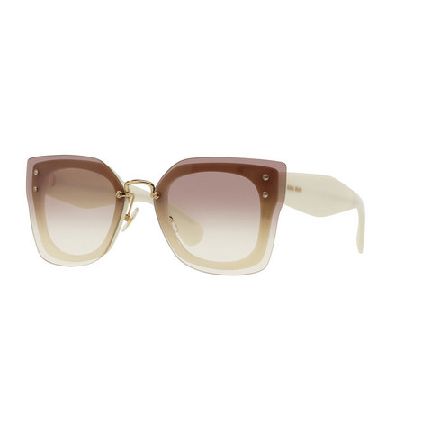 Oversized Square Sunglasses 0MU 04RS, ${color}