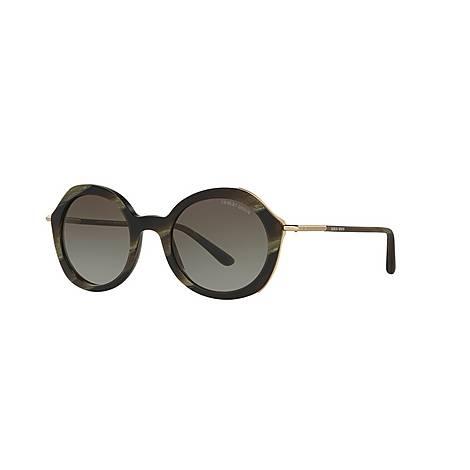 Round Sunglasses AR8075, ${color}