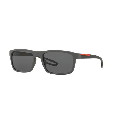 Rectangle Sunglasses PS 03RS 56, ${color}