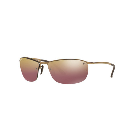 Rectangle Chromance Sunglasses RB3542 Polarised, ${color}