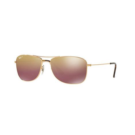 Aviator Sunglasses RB3543 Polarised, ${color}