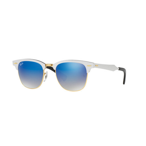 Silver RB3507 CLUBMASTER sunglasses, ${color}