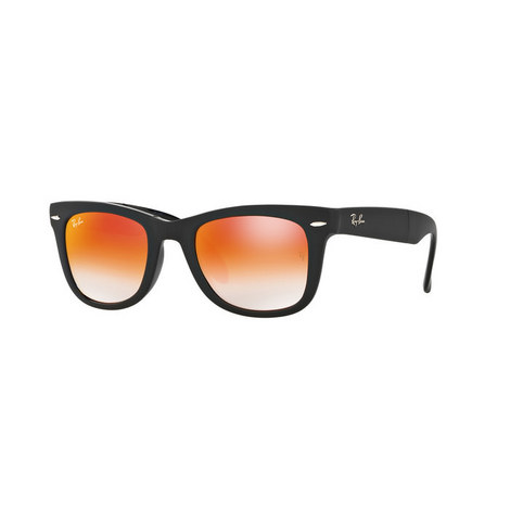 Folding Wayfarer Sunglasses RB4105, ${color}