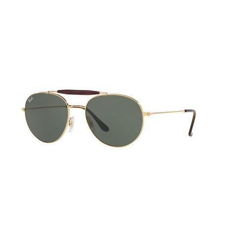Round Sunglasses RB3540, ${color}