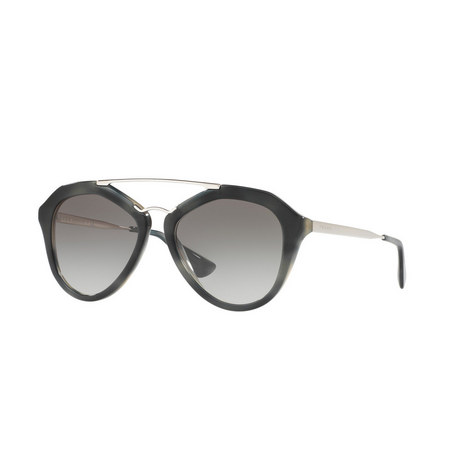 Irregular Pilot Sunglasses PR 12QS, ${color}