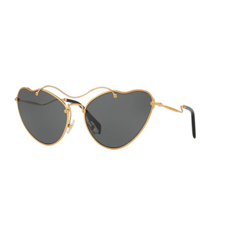 Irregular Cat's Eye Sunglasses 0MU 55RS, ${color}