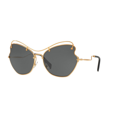 Irregular Round Sunglasses 0MU 56RS, ${color}