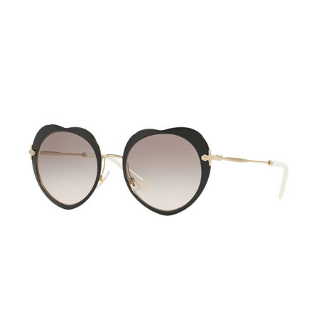 Irregular Round Sunglasses 0MU 54RS, ${color}