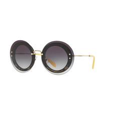 Round Sunglasses 0MU 10RS