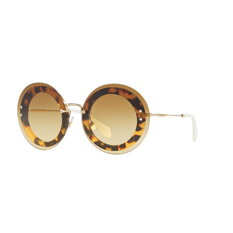 Round Sunglasses 0MU 10RS, ${color}