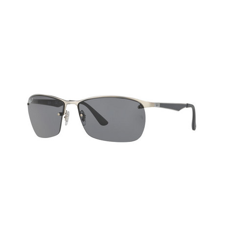 Square Sunglasses RB3550 Polarised, ${color}