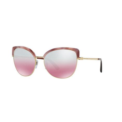 Cat Eye Sunglasses BV6082, ${color}