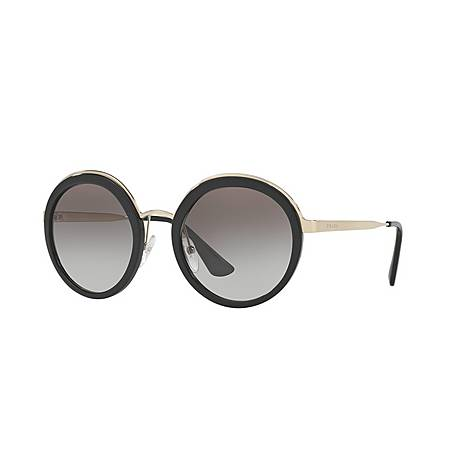 Oversized Round Sunglasses PR50TS, ${color}