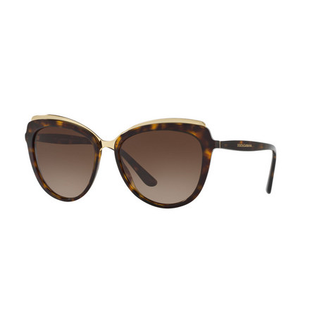 Cats Eye Sunglasses DG4304, ${color}
