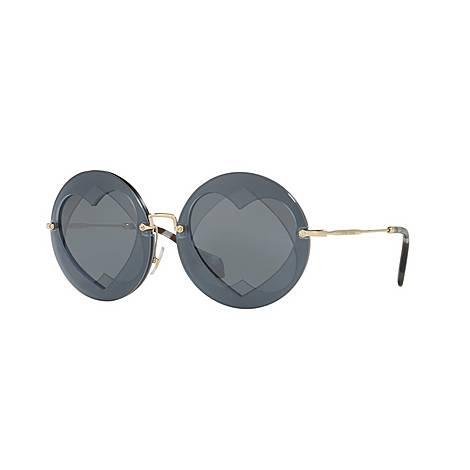 Round Sunglasses 0MU 01SS, ${color}