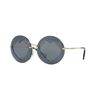 Round Sunglasses 0MU 01SS