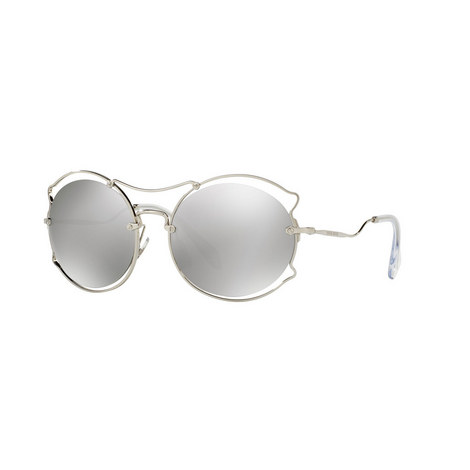 Irregular Round Sunglasses 0MU 50SS, ${color}