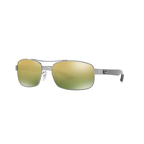 Chromance Aviator Sunglasses RB8318CH, ${color}