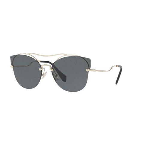 Cat Eye Sunglasses 0MU 52SS, ${color}