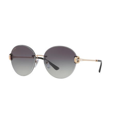 Round Sunglasses BV6091B, ${color}