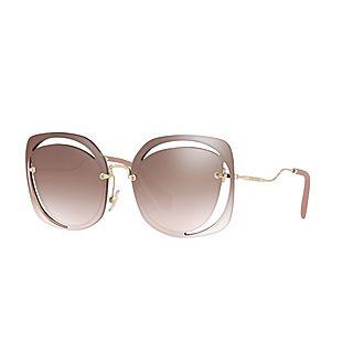 Irregular Sunglasses 0MU 54SS